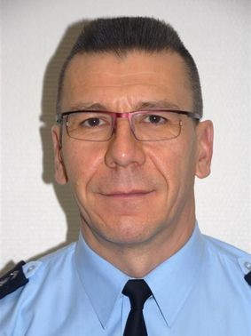 Colonel Marc Hamel, commandant le Centre d'Enseignement Supérieur de la Gendarmerie